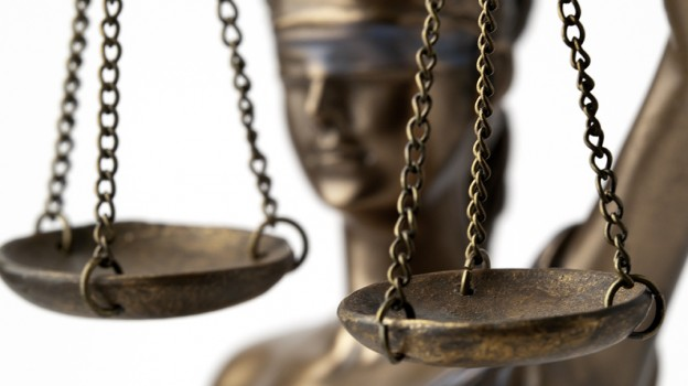 """Blind Lady Justice"""