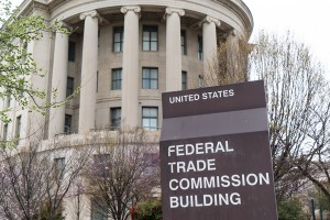 Washington, DC, USA - March 25, 2016: United States Federal Trade Commission building in Washington, DC